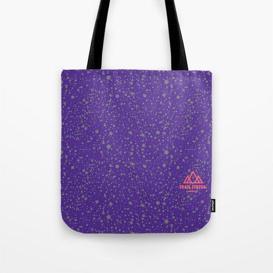 Trail Status / Mountain Purple Tote Bag