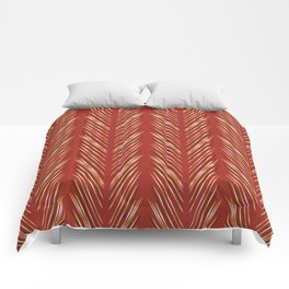 Wheat Grass Terra Cota Comforters