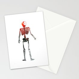Skeleton in your closet Stationery Cards