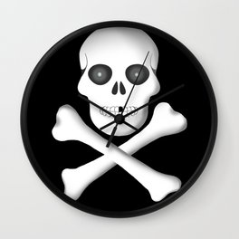 Skull, skeleton design Wall Clock