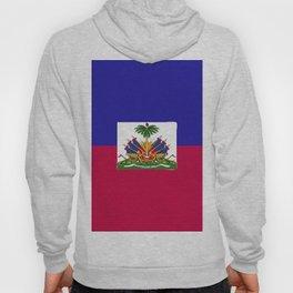 Haiti flag emblem Hoody