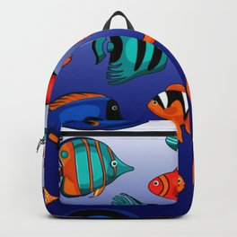 Peces tropicales Backpack