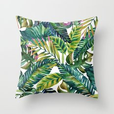 banana life Throw Pillow