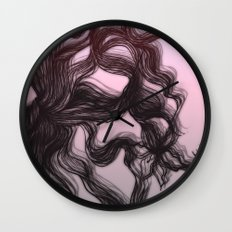 hair (2) Wall Clock