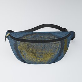 Tree Cactus in a Blue Desert Fanny Pack