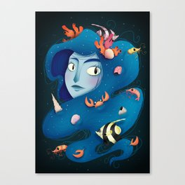 Spirit of the Sea Canvas Print