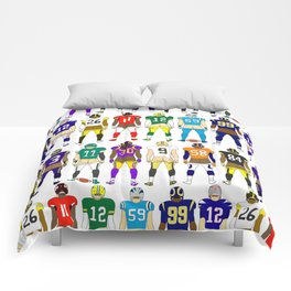 Football Butts Comforters