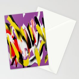 Turb violet multicolor Stationery Cards