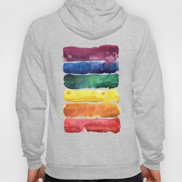 awesome rainbow watercolor Hoody