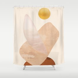 Abstact Shapes Shower Curtain
