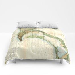 San Diego Bay 1857 Comforters