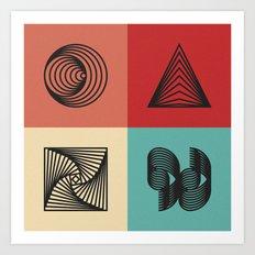 2013 Geometry Art Print