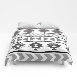 Winter Aztec Comforters