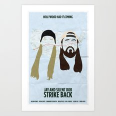 Jay and Silent Bob Strike Back Art Print