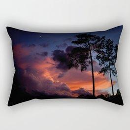 Burning Summer Sky. Rectangular Pillow