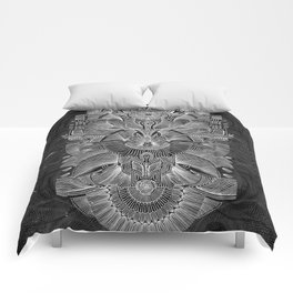 Etched Offering II Comforters