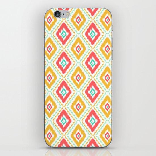 Zig Zag Ikat (white) iPhone & iPod Skin