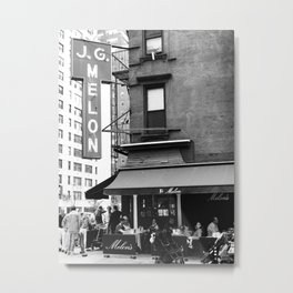 JG Melon, Upper East Side, New York City Metal Print