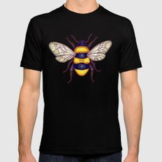 honey guards Black X-LARGE Mens Fitted Tee