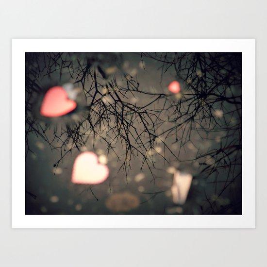 The Heart of Winter Art Print