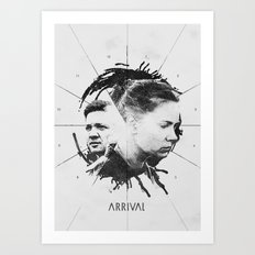 Arrival Art Print