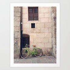 Nice Bike Art Print