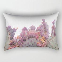 Santa Rita Cactus Rectangular Pillow