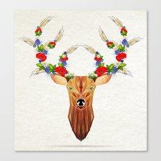 deer spring Canvas Print