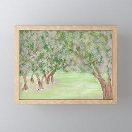 Apple Blossom Time Framed Mini Art Print