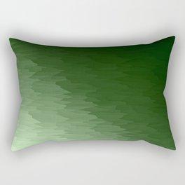 Green Ombre Rectangular Pillow
