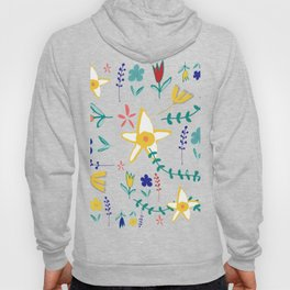 Floral The Tortoise and the Hare is one of Aesop Fables pink Hoody