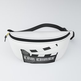 Car Chase Clapperboard Fanny Pack