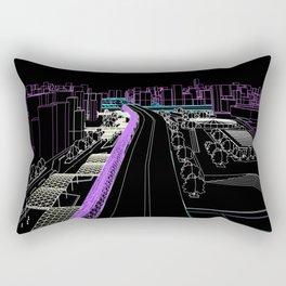 Tríptico Urbano Tres Rectangular Pillow
