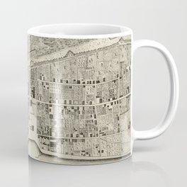 Vintage Map of St. Augustine FL (1764) Coffee Mug