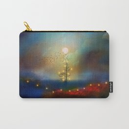 A beautiful Christmas Carry-All Pouch