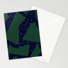 Memphis Patchwork 80s Pattern Stationery Cards