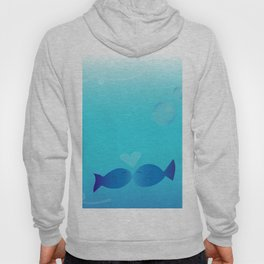 Lucky Little Fish Hoody