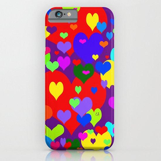 Mille coeurs gais iPhone & iPod Case