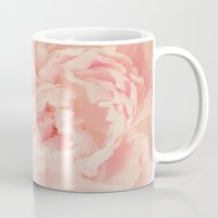 blush Mugs featuring BLUSH by Jenny Ardell