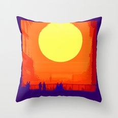Nothing is new under the sun Throw Pillow