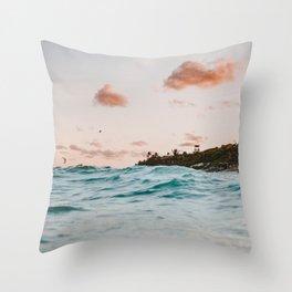summer sunset iv Throw Pillow