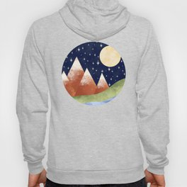 Full Moon In The Mountains Hoody