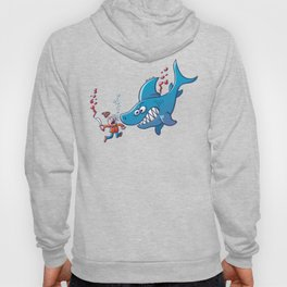 Sharks are Furious, Stop Finning! Hoody