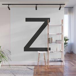 Letter Z Wall Mural