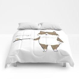 Morning Cat III Comforters