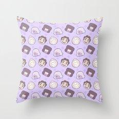 Steven Universe Gems (Purple) Throw Pillow