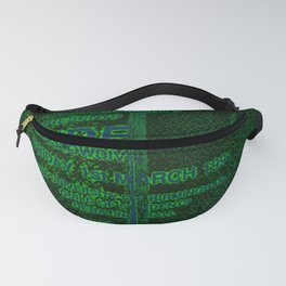 Slow Ticket To Ride Fanny Pack