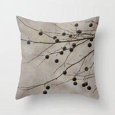Sycamore Branch Throw Pillow