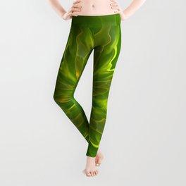 Color Meditation - Green Leggings