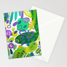 Between the branches. V Stationery Cards